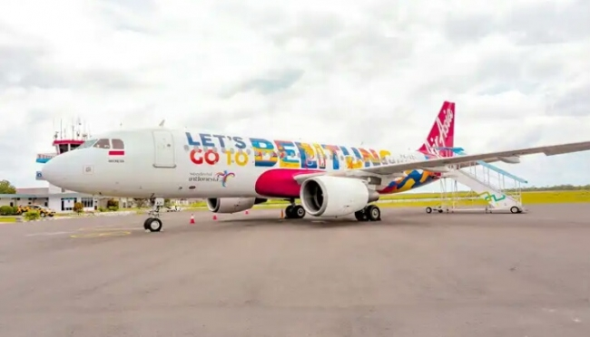 Lets Go To Belitung Air Asia. Foto : newsroomairasia.com